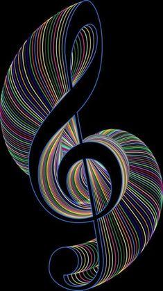 Ideas Music Ideas Art Treble Clef For 2019 Music Drawings, Music Artwork, Art Drawings, Kaleidoscope Art, Musik Wallpaper, Art Fractal, Artist Logo, Artist Branding, Music Pictures