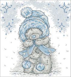 Tatty bear - winter