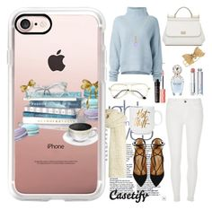 """Staying Warm ❄️"" by casetify ❤ liked on Polyvore featuring I Love Mr. Mittens, Casetify, Le Kasha, River Island, Aquazzura, Dolce&Gabbana, Betsey Johnson, Elizabeth Raine, Christian Dior and Marc Jacobs"