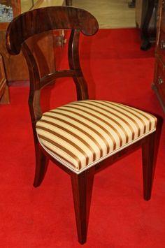 Chairs, Biedermeier style, walnut, 1820 - 89 cm x 48 cm x 48 cm (h x w x d), www. Sofa Furniture, Antique Furniture, Armchairs, Shelving, Addiction, Dining Chairs, Mood, Antiques, Decoration