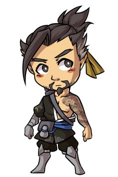 Yo yo it's Hanzo.  Only one more chibi left to do…! It'll be Mei because she looks easy-ish to draw. B);;;; BUT YEAH, I'm excited to order these! I hope they'll look okay.  _____  commissions | store