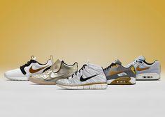 sale retailer e508f d8d2f The Nike Sportswear Gold Hypervenom Collection  nikesportswear  roshe   flyknit Nike Sportswear, Reebok