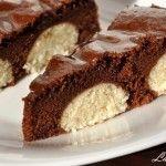 Prajitura de ciocolata cu bilute de branza si cocos | Retete culinare cu Laura Sava