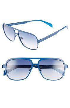 Italia Independent 51mm Aviator Sunglasses | Nordstrom