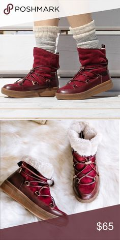 Winter boots for ladies Winter boots with fur lining. Shoes Winter & Rain Boots