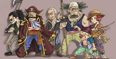 The Roger Pirates are the only crew to ever successfully conquer the Grand Line but why won't its former members go back to Raftel and find the One Piece? Pirate Art, The Pirate King, One Piece Fanart, One Piece Anime, Freedom In The World, One Piece Series, One Peace, One Piece Luffy, Manga