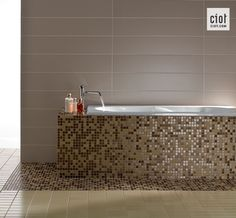 ...or on your bathtub! (Appiani Anthologhia mosaic tile)