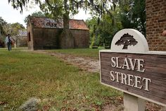 """Original Slave quarters at Boone Hall Plantation near Charleston, South Carolina.  This famous plantation has been featured in many Hollywood portrayals of the Civil War including, John Jakes' """"North and South"""" mini-series, and the sequel to """"Roots"""", """"Queen"""" starring Halle Berrie.  © Mike Lynaugh"""