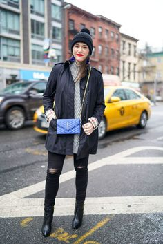 Black Burberry Trench | Covering the Bases | Fashion and Travel Blog New York City
