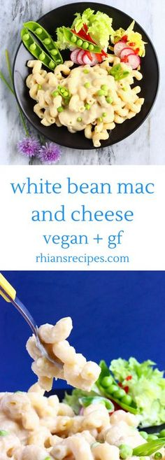 This Vegan White Bean Mac and Cheese is luxuriously creamy, so comforting, and easy to make. Full of protein and fibre, gluten-free and nut-free