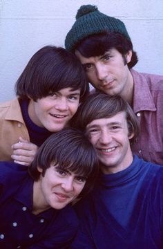 The Monkees - Mikey Dolenz, Mike Nesmith, Davy Jones, Peter Tork