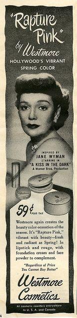 Jane Wyman_Westmore Cosmetic