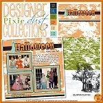 R2R Pixie Dust: Halloween Collection By Mary On October 19, 2012 This will be a great collection for your Halloween pages.