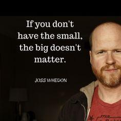 Joss Whedon. This man is amazing.