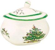 Amazon.com: Spode Christmas Tree Sugar Bowl and Cover: Kitchen & Dining