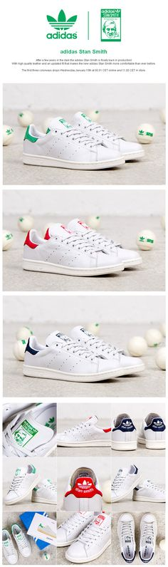 Stan Smith relaunch at Sneakersnstuff.