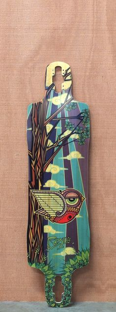 "Rayne 38.5"" Amazon Longboard Deck"