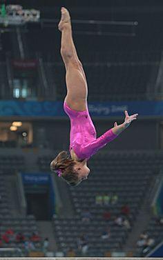 Shawn Johnson's beam at the 2008 olympics! #shawnjohnson #gymnastics