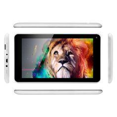 Legolcsóbb 7 hüvelykes Aoson M751S-BS Tablet PC négymagos Android 4.4 8GB ROM + 512MB RAM Dual kamerák támogatása WIFI Bluetooth legjobb ajándék