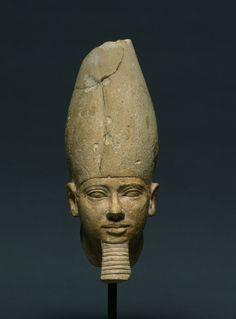 Head of King Userkaf, c. 2454-2447 BC                                                Egypt, Old Kingdom, Dynasty 5, reign of Userkaf