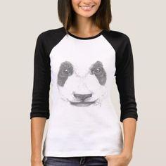 #cute - #Precious panda bear portrait T-Shirt