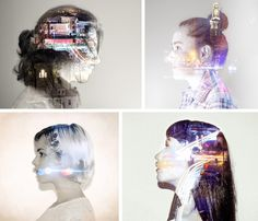 everywhere art: Photography Trend: Double Exposure Portraits Multiple Exposure Photography, Photoshop Photography, Love Photography, Digital Photography, Vision Art, Photoshop For Photographers, Photoshop Actions, Photo Class, Photo Projects