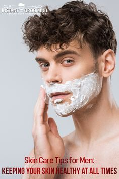 Skin care tips for men, plant based men's skin care, how to keep skin healthy for men, men skin Face Care Tips, Skin Care Tips, Beard Trimming Guide, Healthy Skin Tips, Oils For Skin, Tea Tree Oil, Skin Problems, Face Skin, Good Skin