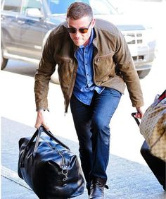 Cory at the airport