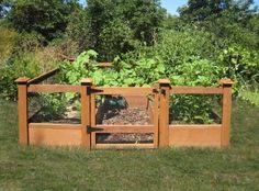 Fenced in veggie garden inspiration! | Decks n backyard veggie garden…
