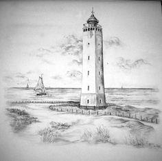 Noordwijk aan zee tekening
