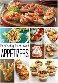 These perfectly portioned appetizers take the guess work out for guests and hosts combined. The snacks are easy to grab and super tasty!