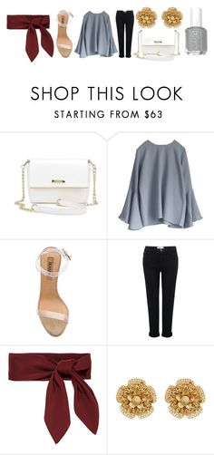 """""""Classy Classy Classy"""" by katiejostyles ❤ liked on Polyvore featuring YEEZY Season 2, Current/Elliott, Chloé, Miriam Haskell and classy"""