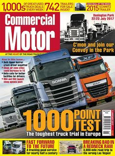 5th January 2017 ►Come join our Convoy in the Park! Pick up our first issue of the year to learn all about CM's exciting new event at Donington Park ► Bath tipper crash driver acquitted, but two others found guilty of manslaughter ►We put four market leading trucks through their paces in our gruelling 1,000 point road test, to see if the Next Generation Scania could hold its own against the competition ► We visit Forward Trucking Services as it races towards its 50th birthday