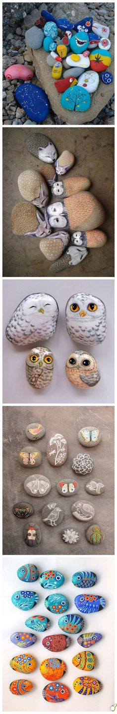 Fun Ways to Create & Paint Pet Rocks as an Activity with My Children // Surprise DIY