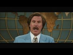 Anchorman 2: The Legend Continues: TV Spot: Serious --  -- http://wtch.it/sxpry