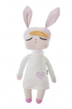 Miniroom Kanindocka konijn popje snow white 42 cm