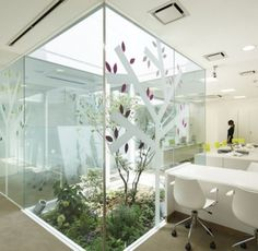 Japanese office design Beautiful Love Bringing The Outdoors Into This Office Space Modern Japanese Interior Japanese Modern Av Magazine 102 Best Office Design Ideas Images Office Interiors Design