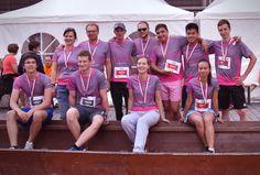 Das Kelvin-Laufteam beim gestrigen Einstein-Marathon in Ulm. Marathon, Einstein, Sports, Ulm, Keep Running, Nice Asses, Hs Sports, Marathons, Sport