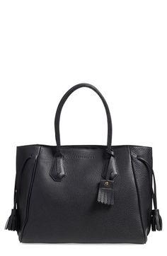 14f7b19341fb Longchamp  Penelope  Tassel Drawstring Leather Tote