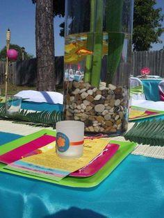 Hawaiian Luau Bridal/Wedding Shower Party Ideas | Photo 1 of 7