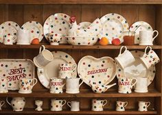 An Inspiring Day Out with Emma Bridgewater Pottery!!! Bebe'!!! Cute pattern!!!