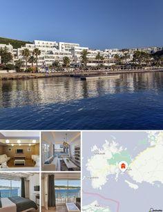 Situado a oeste de Bodrum, numa península conhecida por Bardakci, o hotel localiza-se em frente à praia, a menos de 1 km da marina de Bodrum. Existem ligações de transportes públicos a poucos passos e o aeroporto de Milas-Bodrum situa-se a uma distância aproximada de 35 km.