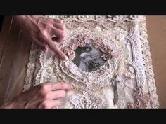Shabbychic heart box ( 1st Design team project for Wild Orchid Crafts ) - YouTube