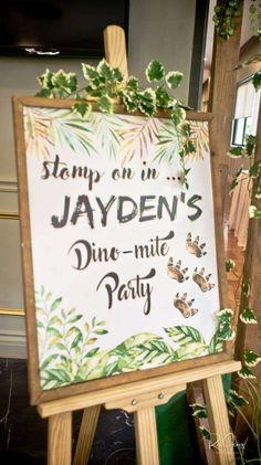 Jayden's Dino-mite Party | CatchMyParty.com