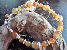 Dragonfly Autumn Bracelet Aventurine and by MicheladasMusings, $15.00