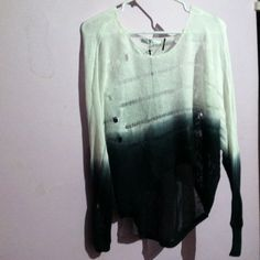 Hombre distressed sweater Never been worn! Super cute and comfy:) Another thing that I bought from Monster Goddess Fate Sweaters