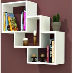 The newest catalog of corner wall shelves designs for modern home interior wall decoration latest trends in wooden wall shelf design as home interior decor trends in Indian houses Bookshelf Design, Wall Shelves Design, Bookshelves, Wooden Shelf Design, Wooden Wall Shelves, Floating Shelves, Unique Wall Shelves, Home Furniture, Furniture Design