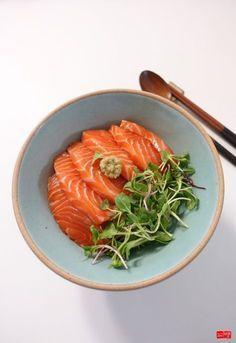 K Food, Food Porn, Korean Food, Chinese Food, Korean Recipes, Vegetable Seasoning, Salmon Recipes, Meals For One, Food Design