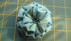 more fabric flowers!