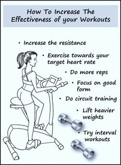 Make your workouts more effective